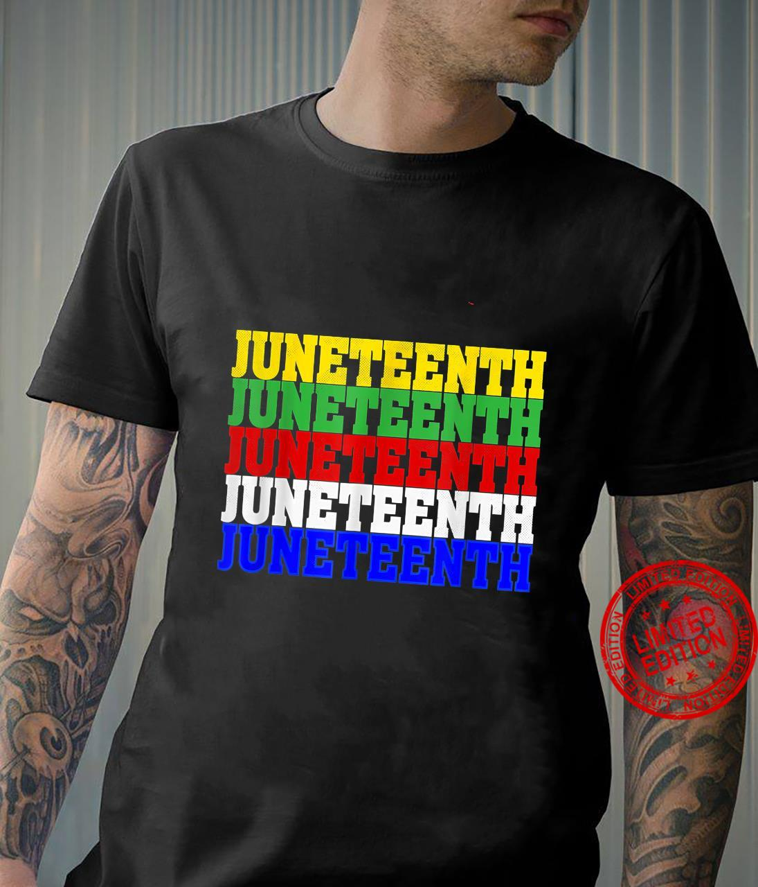 Juneteenth Is My Independence Day 19th 06 Black Live matter Shirt