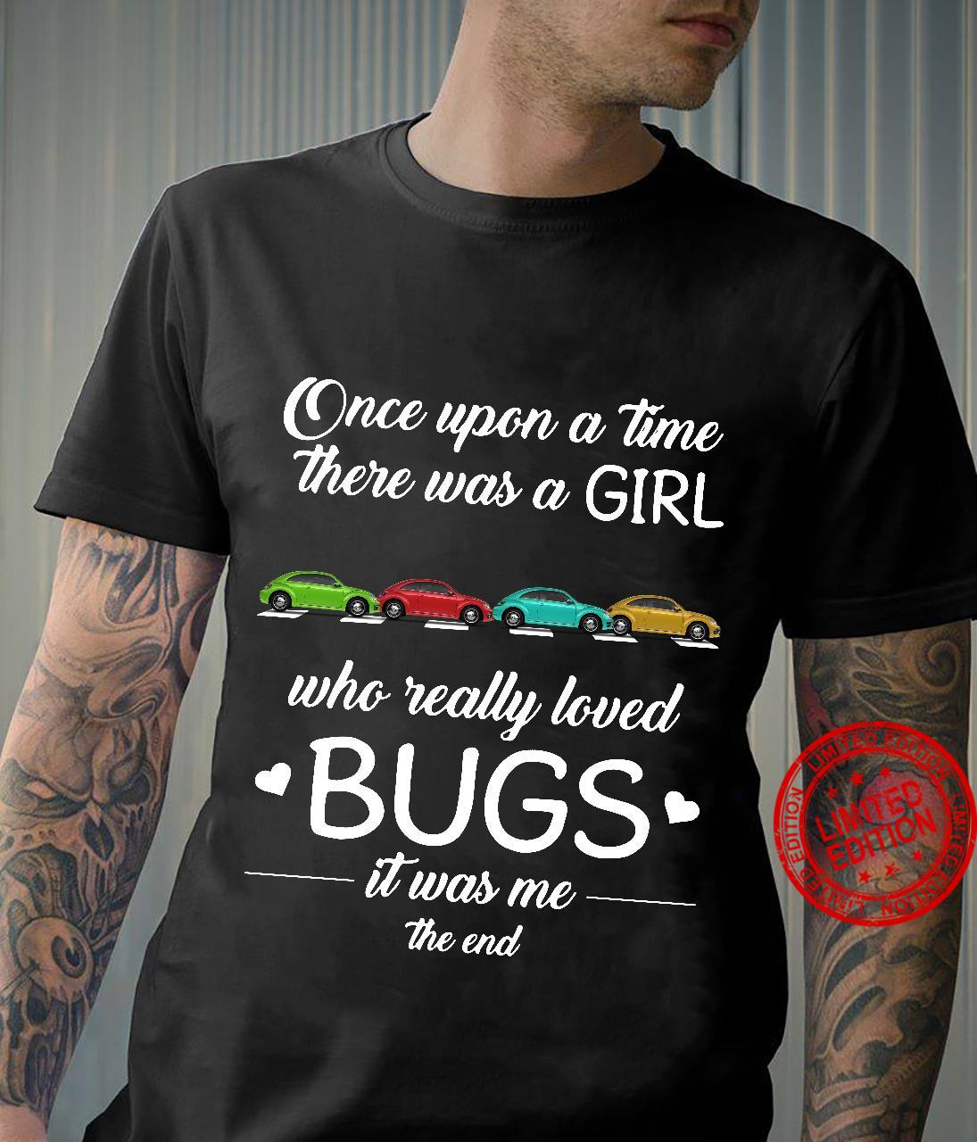Once upon a time there was a girl who really loved Bugs crosswalk shirt